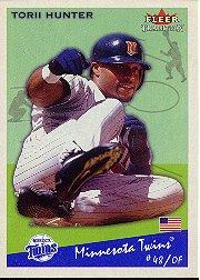 2002 Fleer Tradition #270 Torii Hunter