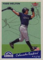 2002 Fleer Tradition #298 Todd Helton