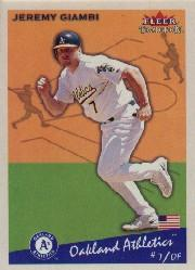 2002 Fleer Tradition #341 Jeremy Giambi