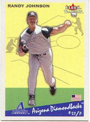 2002 Fleer Tradition #348 Randy Johnson