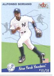 2002 Fleer Tradition #356 Alfonso Soriano