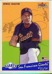 2002 Fleer Tradition #368 Eric Davis