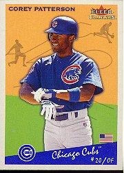 2002 Fleer Tradition #389 Corey Patterson