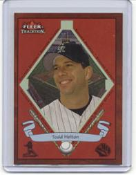 2002 Fleer Tradition #475 Todd Helton BNR