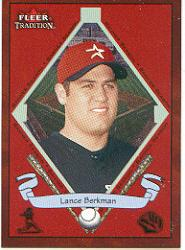 2002 Fleer Tradition #477 Lance Berkman BNR