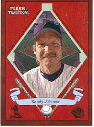 2002 Fleer Tradition #485 Randy Johnson BNR