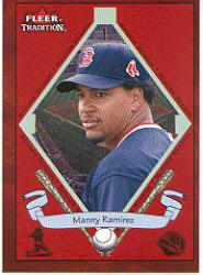 2002 Fleer Tradition #486 Manny Ramirez BNR