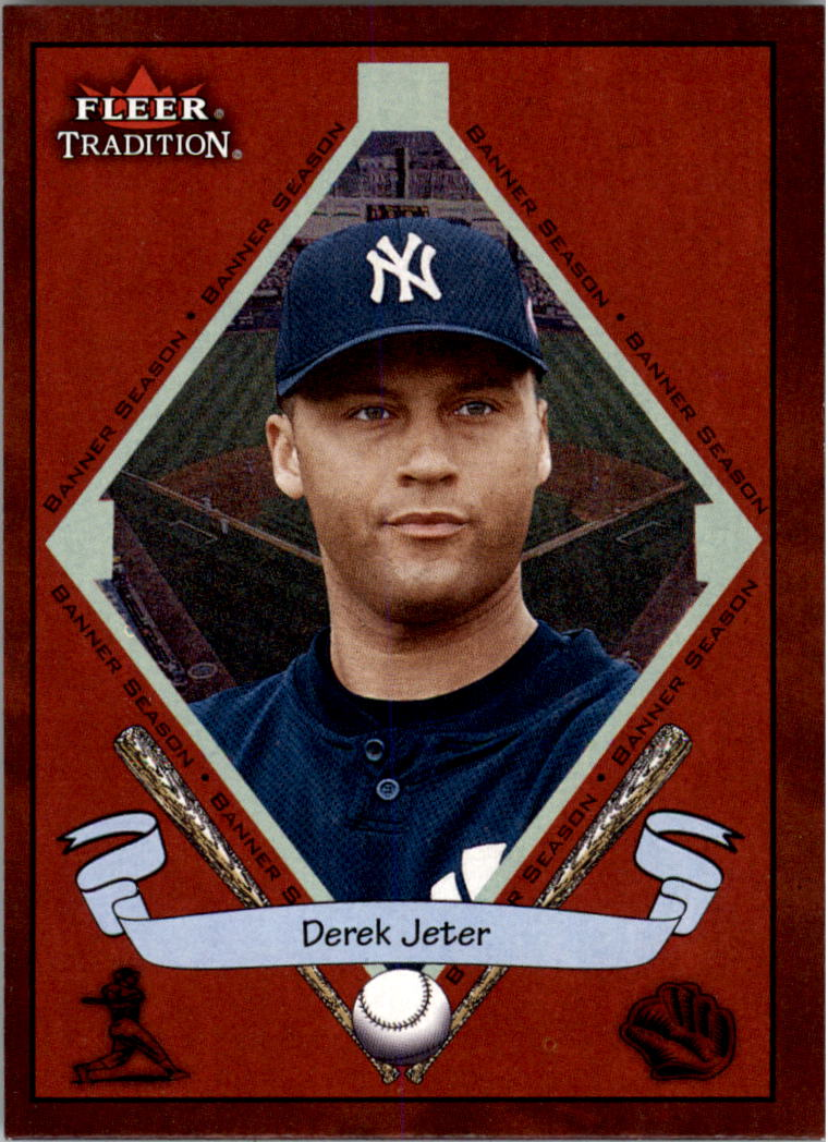 2002 Fleer Tradition #489 Derek Jeter BNR