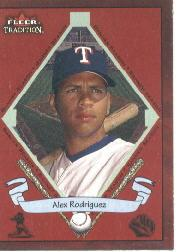 2002 Fleer Tradition #490 Alex Rodriguez BNR