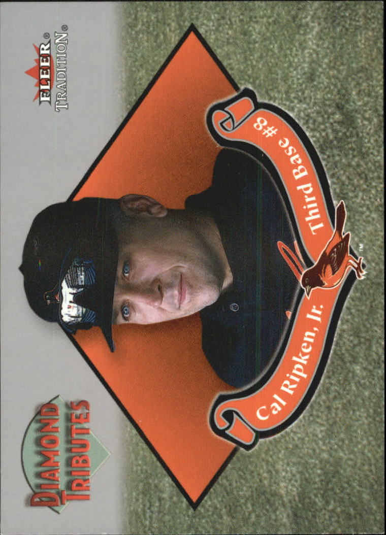 2002 Fleer Tradition Diamond Tributes #1 Cal Ripken