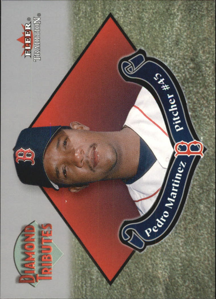 2002 Fleer Tradition Diamond Tributes #4 Pedro Martinez