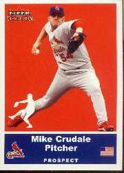 2002 Fleer Tradition Update #U2 Mike Crudale SP RC