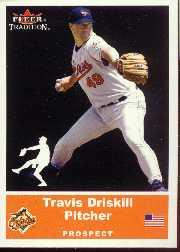 2002 Fleer Tradition Update #U4 Travis Driskill SP RC