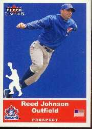 2002 Fleer Tradition Update #U5 Reed Johnson SP RC