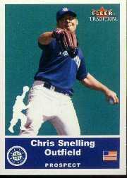 2002 Fleer Tradition Update #U10 Chris Snelling SP RC