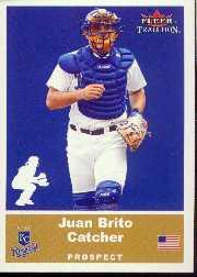 2002 Fleer Tradition Update #U11 Juan Brito SP RC