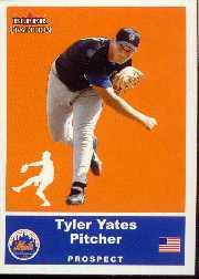 2002 Fleer Tradition Update #U12 Tyler Yates SP RC