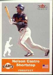 2002 Fleer Tradition Update #U24 Nelson Castro SP RC