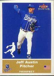 2002 Fleer Tradition Update #U25 Jeff Austin SP RC