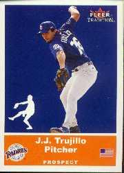 2002 Fleer Tradition Update #U29 J.J. Trujillo SP RC