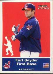 2002 Fleer Tradition Update #U34 Earl Snyder SP RC