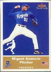 2002 Fleer Tradition Update #U35 Miguel Asencio SP RC