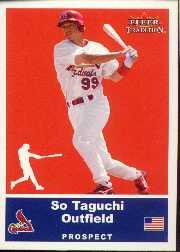 2002 Fleer Tradition Update #U38 So Taguchi SP RC