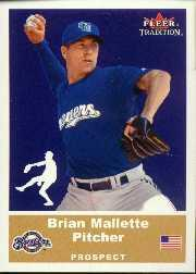 2002 Fleer Tradition Update #U39 Brian Mallette SP RC