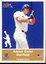 2002 Fleer Tradition Update #U51 Aaron Guiel SP RC