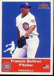 2002 Fleer Tradition Update #U55 Francis Beltran SP RC