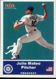 2002 Fleer Tradition Update #U61 Julio Mateo SP RC