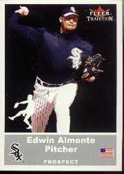 2002 Fleer Tradition Update #U66 Edwin Almonte SP RC
