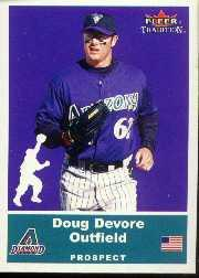 2002 Fleer Tradition Update #U68 Doug Devore SP RC