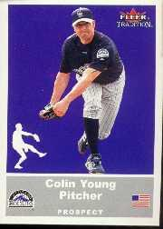 2002 Fleer Tradition Update #U70 Colin Young SP RC