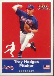 2002 Fleer Tradition Update #U92 Trey Hodges SP RC