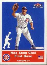 2002 Fleer Tradition Update #U93 Hee Seop Choi SP