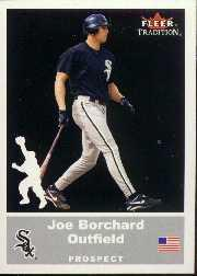 2002 Fleer Tradition Update #U94 Joe Borchard SP