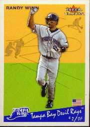 2002 Fleer Tradition Update #U101 Randy Winn