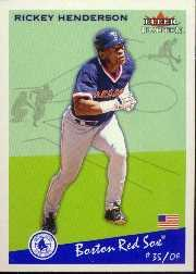 2002 Fleer Tradition Update #U105 Rickey Henderson