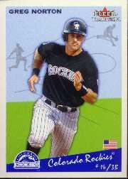 2002 Fleer Tradition Update #U108 Greg Norton