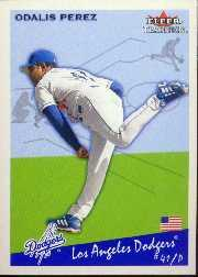 2002 Fleer Tradition Update #U109 Odalis Perez