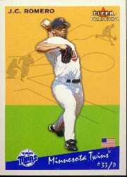 2002 Fleer Tradition Update #U110 J.C. Romero