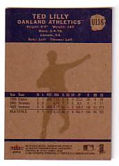 2002 Fleer Tradition Update #U118 Ted Lilly
