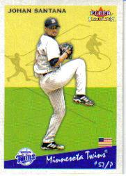2002 Fleer Tradition Update #U134 Johan Santana