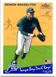 2002 Fleer Tradition Update #U137 Dewon Brazelton