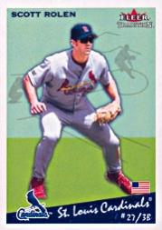 2002 Fleer Tradition Update #U265 Scott Rolen