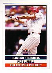 2002 Fleer Tradition Update #U286 Pat Burrell DS