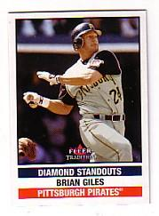 2002 Fleer Tradition Update #U289 Brian Giles DS