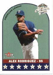 2002 Fleer Tradition Update #U305 Alex Rodriguez AS front image