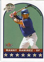 2002 Fleer Tradition Update #U313 Manny Ramirez AS
